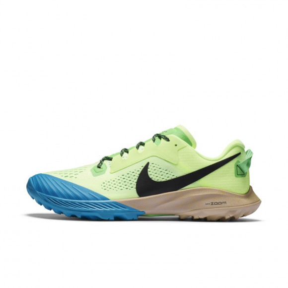 Nike Air Zoom Terra Kiger 6 - Men's Trail Shoes - Barely Volt / Black / Poison Green