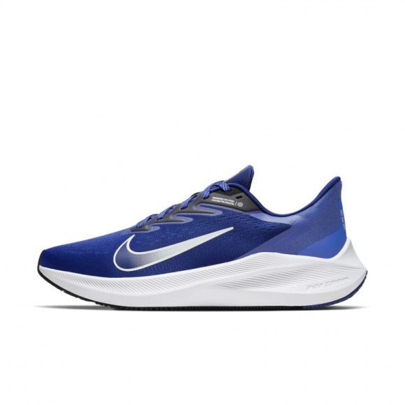 Nike Air Zoom Winflo 7 Men's Running Shoe - Blue - CJ0291-401