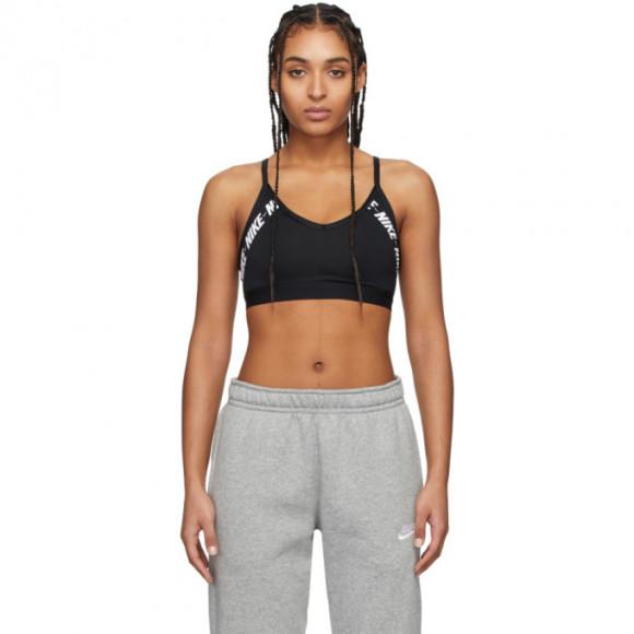 Nike Black Light Support Indy Bra - CJ0559-010