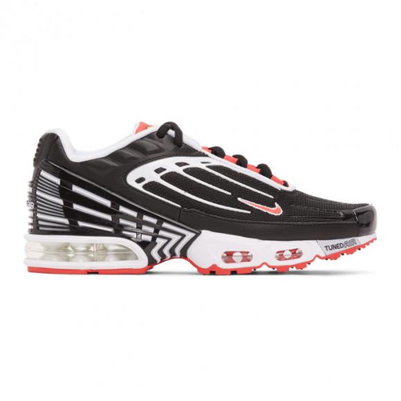 Nike Black and Red Air Max Plus III Sneakers - CJ0601