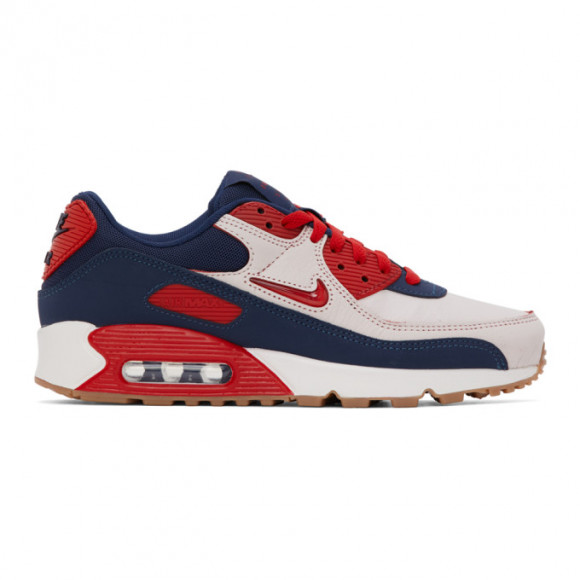 Nike Navy Air Max 90 Sneakers - CJ0611
