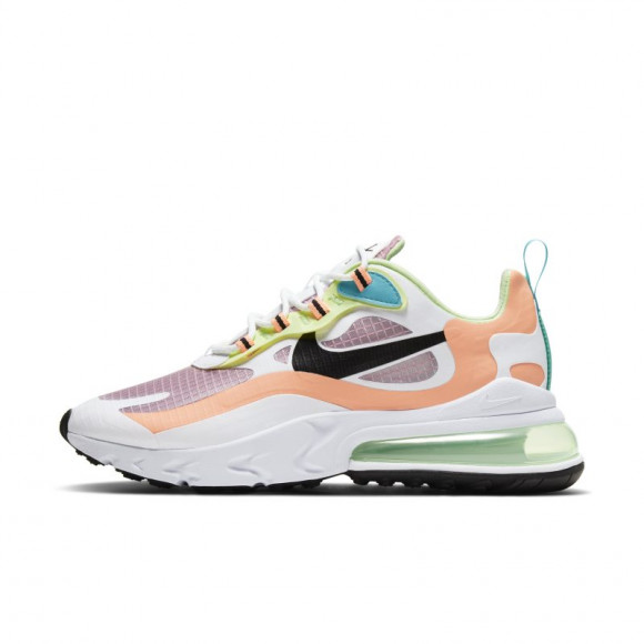 Nike Womens Nike Air Max 270 React Womens Shoes Pink Black