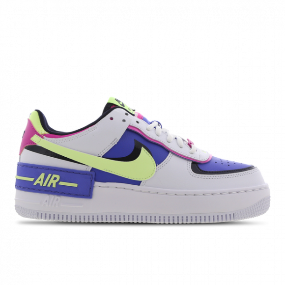 Nike Air Force 1 Shadow White Sapphire Barely Volt W Cj1641 100 Nike's most iconic and enduring silo, the air force 1 is a street legend! nike air force 1 shadow white sapphire barely volt w