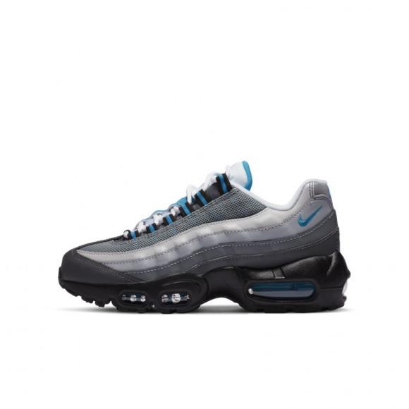 Nike Air Max 95 Junior, White/Blue/Grey - CJ3906-002