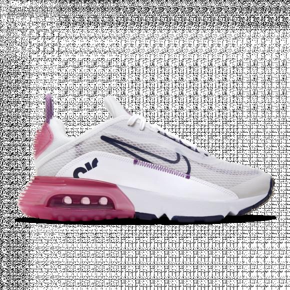 Nike Girls Nike Air Max 2090 Girls' Grade School Shoes PlatinumBluePink Size 04.0