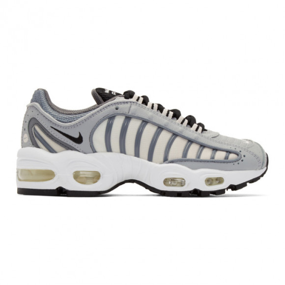Nike Grey And White Air Max Tailwind Iv Sneakers Cj7976 006