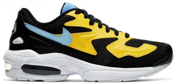 Nike Air Max 2 Light Yellow Light Blue Black - CJ7980-700