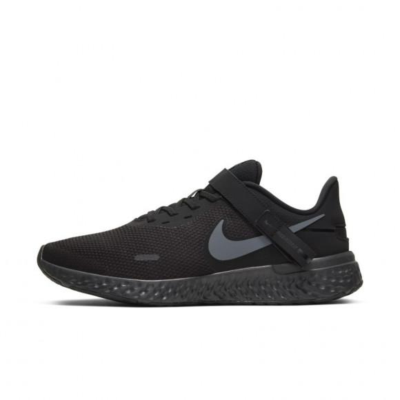 Nike Revolution 5 FlyEase Hardloopschoen voor heren (extra breed) - Zwart - CJ9885-001