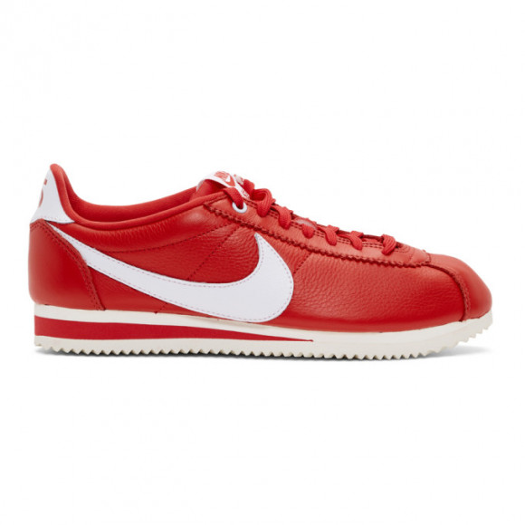 Nike Red Stranger Things Edition Classic Cortez QS Sneakers - CK1907