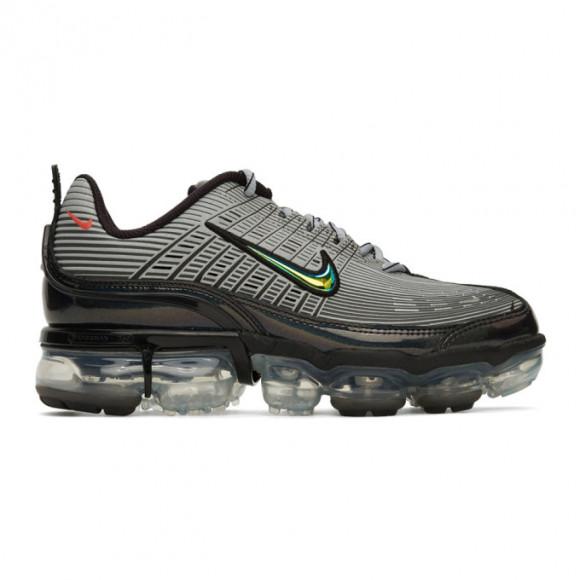Nike Grey and Red Air VaporMax 360 Sneakers - CK2718