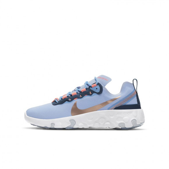 Renew Element 55 Nike Bleu/or/corail 36,5 Unisex - CK4081-501