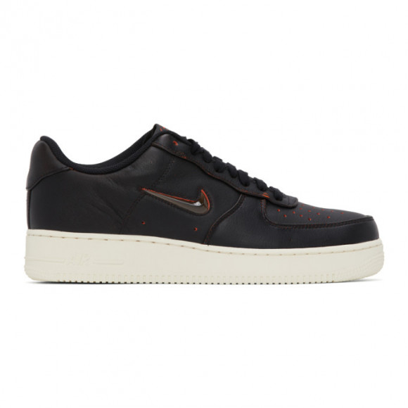 Nike Black Home and Away Air Force 1 07 Jewel Sneakers - CK4392