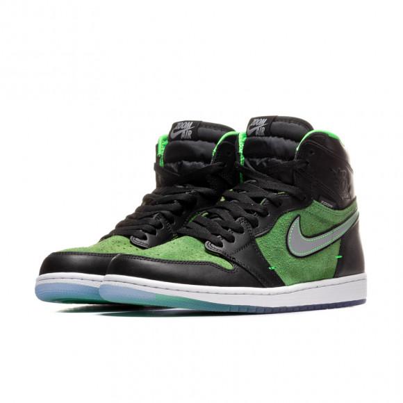 Jordan 1 Retro High Zoom Black Green - CK6637-002