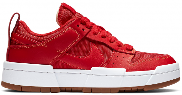 Nike Dunk Low Disrupt Red Gum (W) - CK6654-600