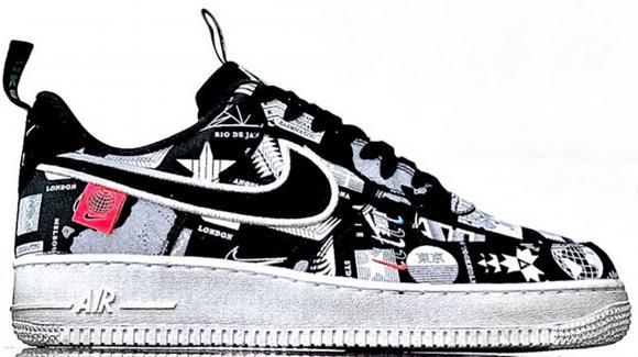 womens air jordans heels 25   Nike Air Force 1 '07 Worldwide ...