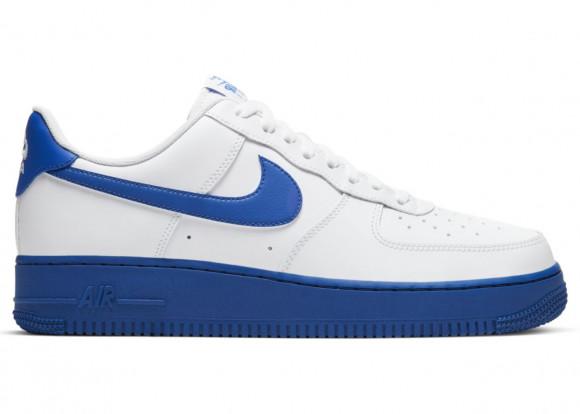 Nike Air Force 1 '07 Low 'White Royal' White/Royal Blue Sneakers/Shoes CK7663-103 - CK7663-103