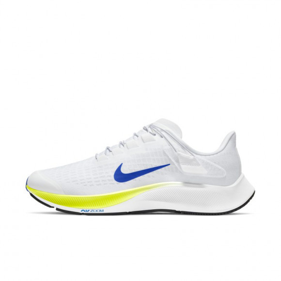 Nike Air Zoom Pegasus 37 FlyEase Men's Running Shoe - White - CK8474-102
