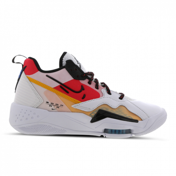 Jordan Wmns Zoom '92 White/ Black-Siren Red-University Gold - CK9184-102