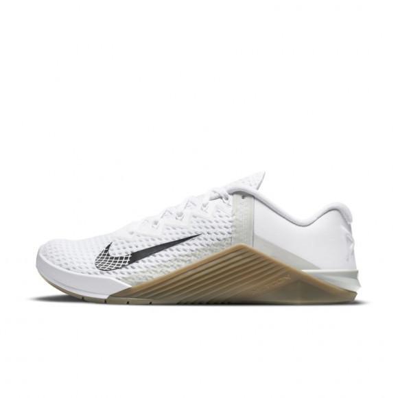 Nike Metcon 6 Men's Training Shoe - White - CK9388-101