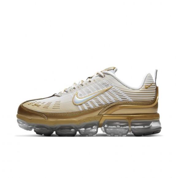 Nike Mens Nike Air Vapormax 360 - Mens Running Shoes White/Gold/Black Size 11.0 - CK9671-101