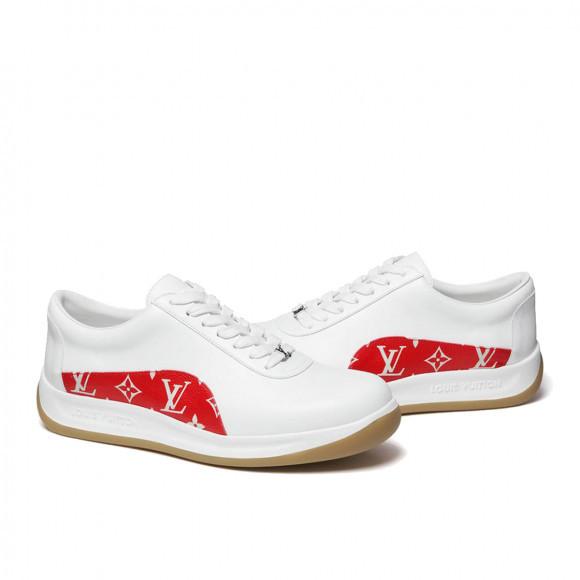 Louis Vuitton x Supreme Sport Monogram LV Sneaker White Red (FW17) - CL0167