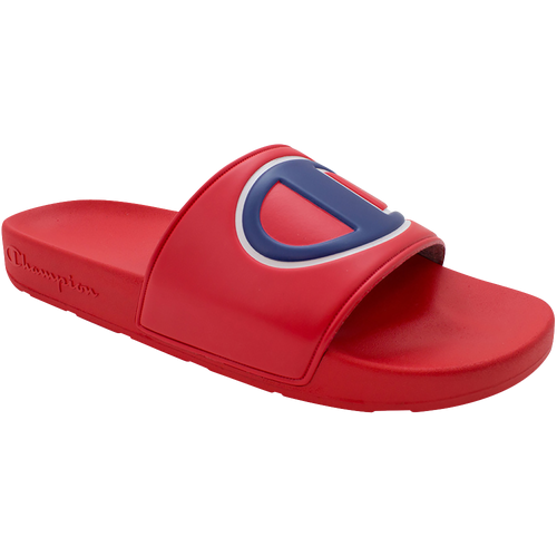 Champion IPO Slide - Men's Shoes - Red / Red / Blue - CM100076M