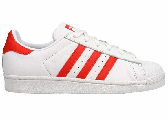 Adidas Womens WMNS Superstar 'Active Red' Cloud White/Active Red/Core Black Sneakers/Shoes CM8413 - CM8413