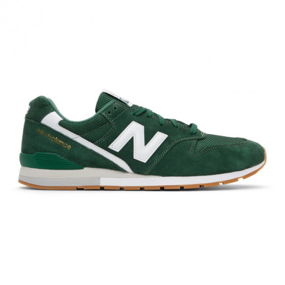 New Balance Green Suede 996 Sneakers - CM996CPF