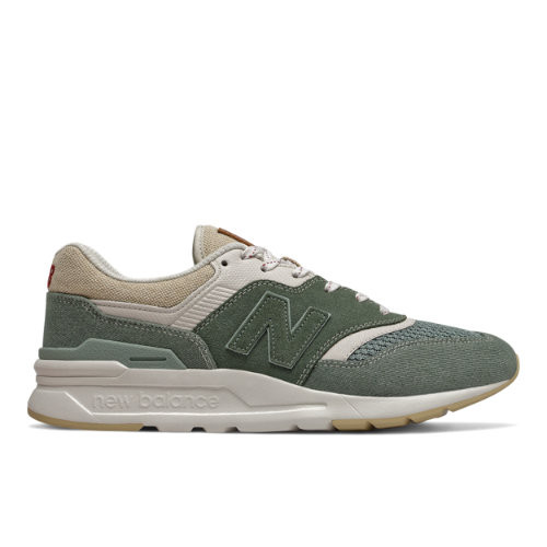 Mens New Balance 997H - Slate Green/Moonbeam, Slate Green ...
