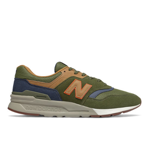 Uomo New Balance 997H - Oak Leaf Green/Natural Indigo, Oak Leaf Green/Natural Indigo - CM997HFU