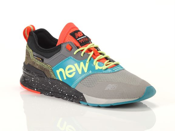 New Balance Mens New Balance 997H - Mens Shoes Grey/Yellow/Orange Size 09.5 - CMT-997-HB
