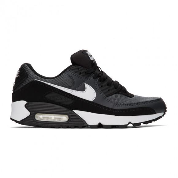Nike Black and Grey Air Max 90 Sneakers - CN8490