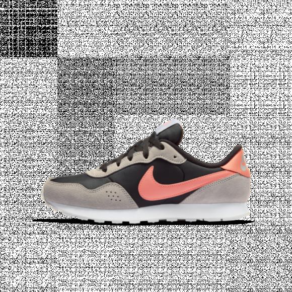Boys Nike Nike Valiant Mid - Boys' Grade School Shoe Off Noir/Atomic Pink/Grey Fog Size 07.0 - CN8558-004
