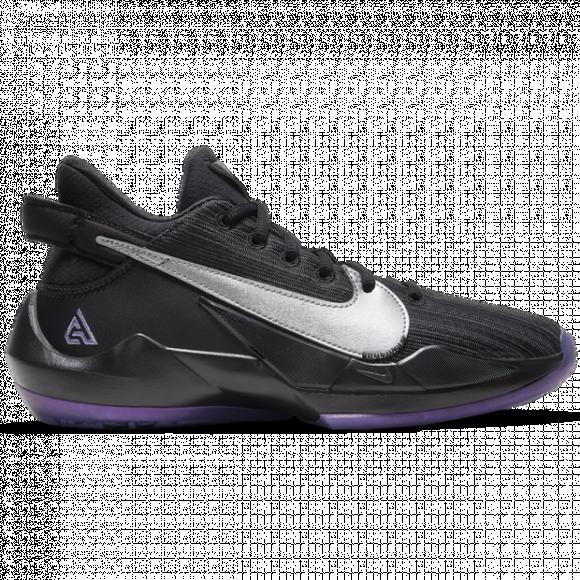 Boys Nike Nike Freak 2 - Boys' Grade School Shoe Black/Metallic Silver/Atomic Pink Size 07.0 - CN8574-005