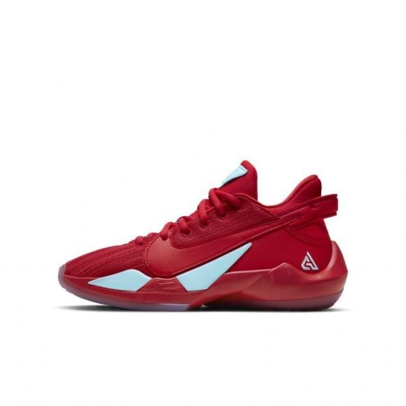 Boys Nike Nike Freak 2 - Boys' Grade School Shoe Univ Red/Univ Red/Glacier Ice Size 07.0 - CN8574-605