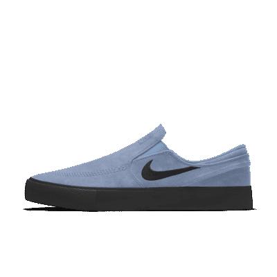 Nike SB Zoom Janoski RM By You Custom Skate Shoe - Blue - CN9642-992