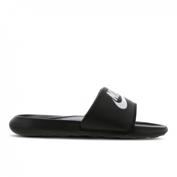 Nike Victori One Slide - Women's Shoes - Black / White / Black - CN9677-005