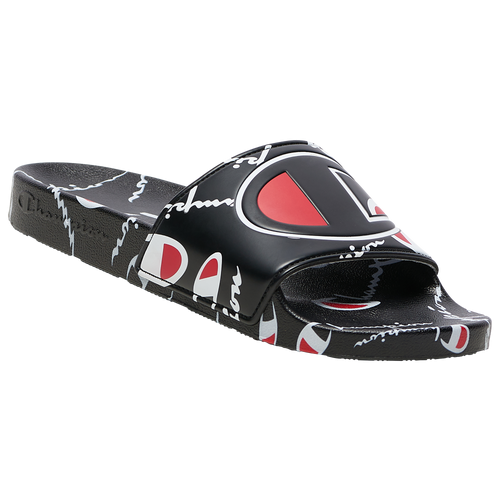 Champion IPO Warped Slide - Men's Shoes - Black - CP101071M