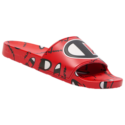 Champion IPO Warped Slide - Men's Shoes - Scarlet - CP101073M