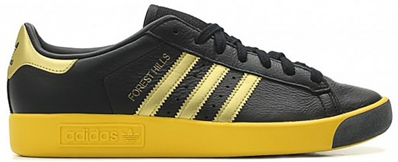 adidas Forest Hills Black Gold Yellow