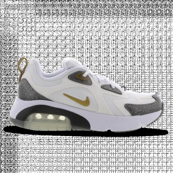 Nike Girls Air Max 200 Shoes WhiteGold Size 05.5 CQ4009 100
