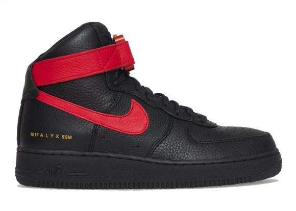 Nike Air Force 1 High 1017 ALYX 9SM Black Red - CQ4018-004