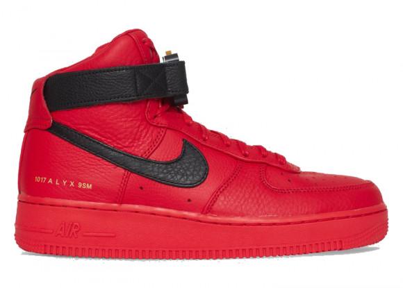 Nike Air Force 1 High 1017 ALYX 9SM Red Black - CQ4018-601