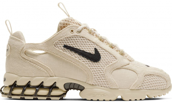 Nike Air Zoom Spiridon Cage 2 Stussy Fossil - CQ5486-200