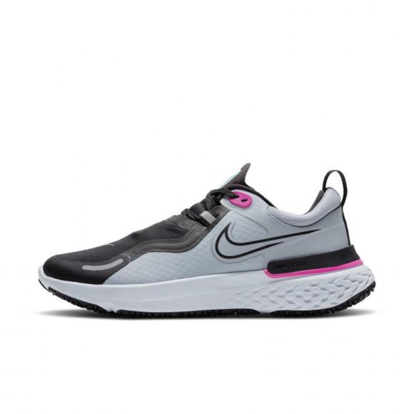 Nike React Miler Shield Women's Running Shoe - Blue - CQ8249-400