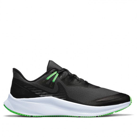Nike Quest 3 Shield 'Black Poison Green' Black/Obsidian Mist/Poison Green/Black CQ8894-010 - CQ8894-010
