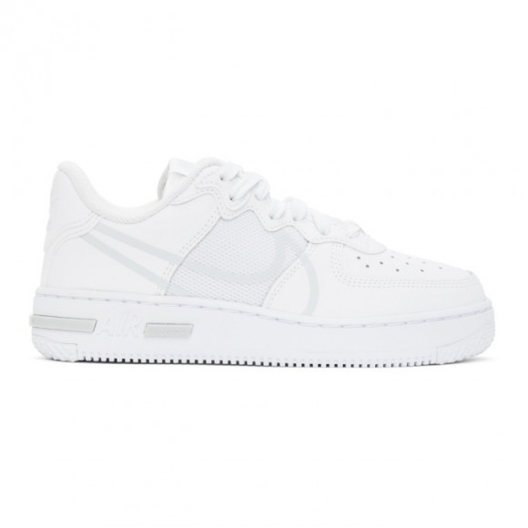 Nike Air Force 1 React Men's Shoe (White) - Clearance Sale - CT1020
