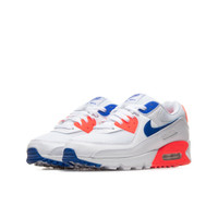 Nike Air Max 90 Women's, White/Blue/Red - CT1039-100