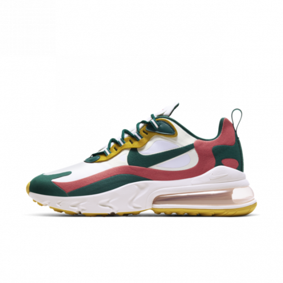 Nike Air Max 270 React Men's Shoe - White - CT1264-103
