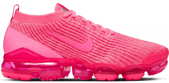 Nike Air VaporMax Flyknit 3 Sneakers Dames, Roze